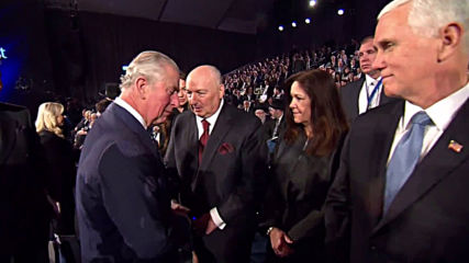 Israel: Prince Charles appears to snub Mike Pence at World Holocaust Forum