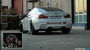Bmw M4 F82 with Supersprint Valvetronic Exhaust