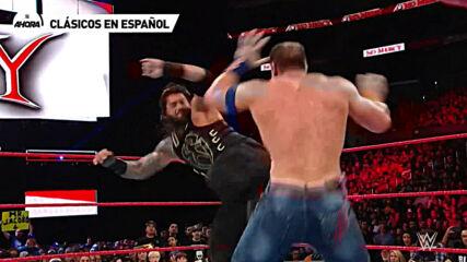 Clásicos en Español: Roman Reigns vs John Cena – WWE No Mercy 2017