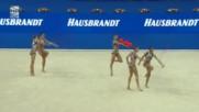 2017 Световно първенство по художествена гимнастика Пезаро - Български ансамбъл (3 топки и 2 въжета)