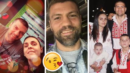 Нежно послание от силен мъж: Тервел Пулев с любов за жена си