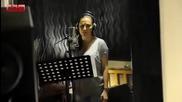 Aca Lukas i Ceca - Ne zanosim se ja - (Deo nove pesme sa snimanja) - (Video 2014)