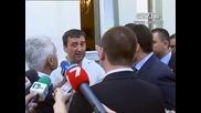 Волен Сидеров нападна репортер на Тв Скат и полицай