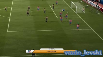 Компилация от голове на Фифа 2013 с Falcao