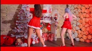 Две секси мацки dance Новогодишен twerk booty