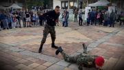 """Кампания """"бъди Войник"""" Добрич - курсанти"""