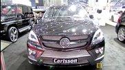 2014 Mercedes-benz Ml-class Carlsson Cml W166 - Exterior,interior Walkaround-2014 Geneva Motor Show