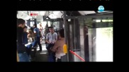 Лудия репортер - Пор в автобуса - Скрита камера
