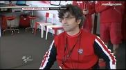 Първите тестове на V. Rossi с Ducati