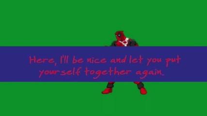 Deadpool Vs Hidan _ Death Duel!