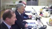 Джон Кери се среща с френския премиер и външния министър