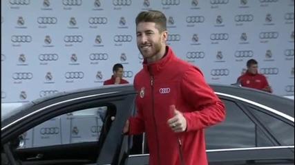 Звездите на Реал зад волана, Роналдо се цупи на съотборниците