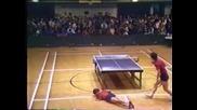 Ето така се играе пинг понг