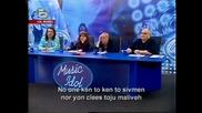 Марая Кери вижда и аплодира Валентина Хасан - със субтитри - music idol - 4-ти концерт 14.04.08 HQ