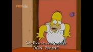 The Simpsons S16e09 - Pranksta Rap Tvrip Bg audio