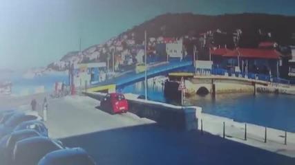 Смях ... Жена преминава през мост с автомобил !!! ( внимание )