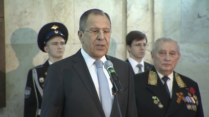Russia: We aim to uphold 'justice in international affairs' - Lavrov