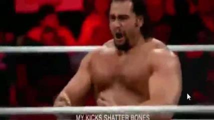 Rusev тренира за Wrestlemania 31 [мотивиращо видео]