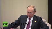 Turkey: Putin and Japanese PM Abe discuss economic, bilateral relations