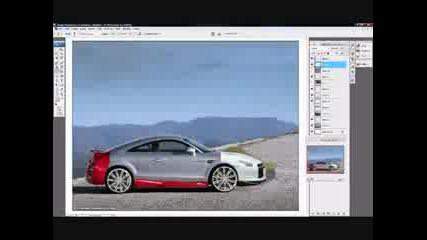 Photoshop Virtual Tuning Audi