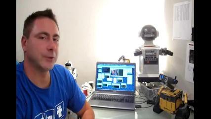 Роботът Wall-e е истинки !!