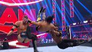 Mansoor & Mustafa Ali vs. MACE & T-BAR: Raw, Aug. 2, 2021
