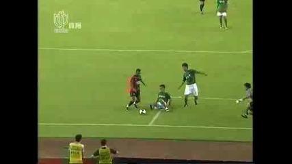 Hangzhou Greentown - Manchester United - Бербатов пак белжи гол !