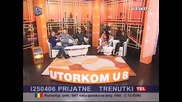 Jovan Perisic - Utorkom u 8 - (TV DM SAT 2013)