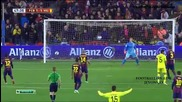 Меси и Суарес доближиха Барса до финала! 11.02.2015 Барселона - Виляреал 3:1