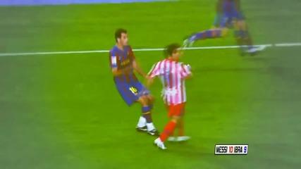 Sergio Busquets - Messi 10 Ibra9 - robeen