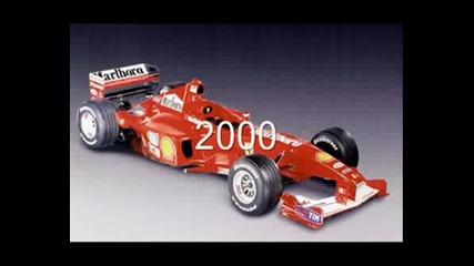 Болидите На Ферари В Периода 1950/2008