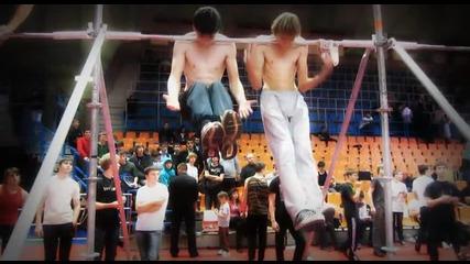Street Fitness състезание в русия !!