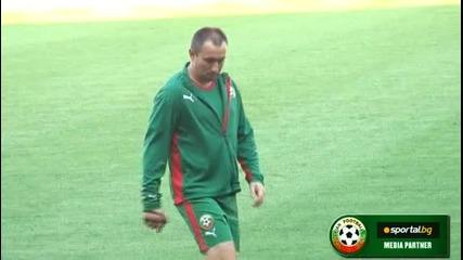 Националите ни тренират на Олимпико в Торино