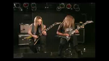 Children Of Bodom - Alexi Laiho - Урок