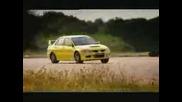 Lancer Evo 8 срещу Impreza Sтi срещу Audi S4 - Top Gear