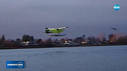 За първи път в света се извърши полет с електрически самолет