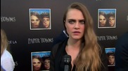 'Paper Towns' Star Cara Delevingne At You Tube Livestream Event
