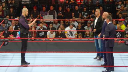 Baron Corbin explains his methodology to the McMahon family: WWE.com Exclusive, Dec. 17, 2018