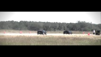 Underground Racing Twin Turbo Gallardo vs Supra vs Golf R32