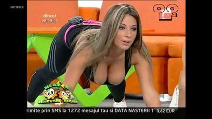 Сутрешна тренировка по румънска телевизия