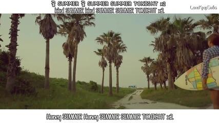 [mv/hd] Ns Yoon G – Honey Summer [english Subs, Romanization & Hangul]