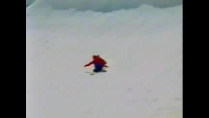 Snowboard quater pipe