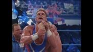 Chris Benoit vs Charlie Haas Part 2 of 2   Wwe Smackdown 23. January 2003