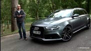 Audi Rs6 Avant - прекрасното семейно комби !