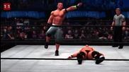 John Cena's greatest Wwe 2k14 maneuvers- Wwe 2k14 Top 10