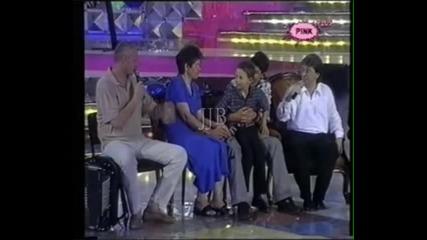 Lepa Brena sa familijom u Grand show '01