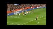 Бербатов с два гола и асистенция ! Арсенал - Фулъм 3:3