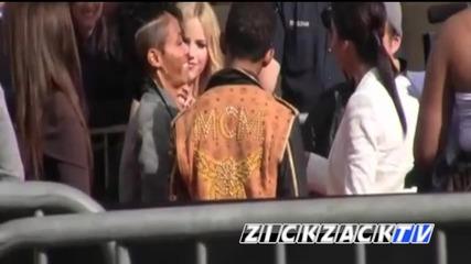 Selena Gomez and Katy Perry at the Kids Choice Awards 2012 !!