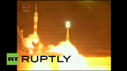 Kazakhstan: Russian Soyuz rocket launches astronauts to ISS after two-month delay