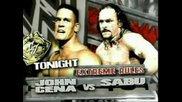 John Cena vs. Sabu ( Extreme Rules Mach) - Wwe vs. Ecw Head To Head 2006